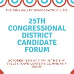 25th Congressional District Candidate Forum Oct 18 2017